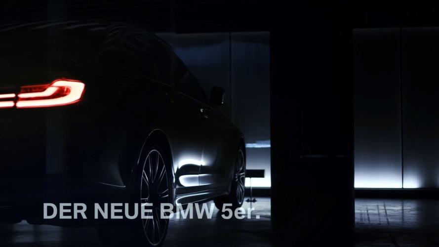 BMW, 2017 model 5 Serisi'nin teaser videosunu yayınladı