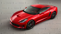 Chevy Corvette C8 render previews mid-engined future