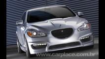 Preparadora Arden mostra seu Jaguar XF Based AJ 21 com 550 cv de potência
