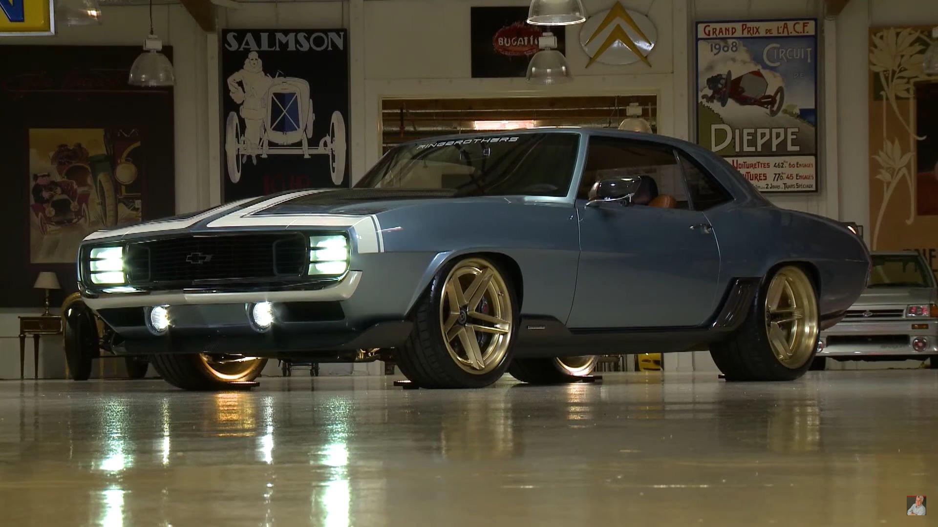 Ringbrothers' 1969 Chevy Camaro G-Code hits the spot for Jay Leno