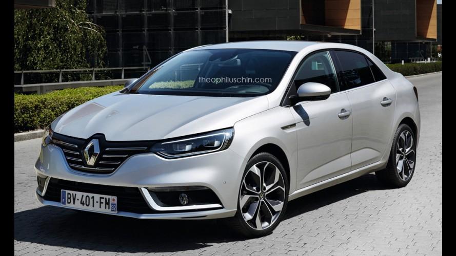 Segredo: veja como serão as linhas do novo Renault Fluence