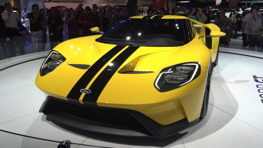 Vídeo: Ford GT no Salão do Automóvel de São Paulo