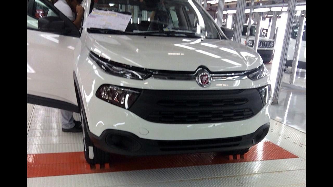 Fiat Toro: picape inédita aparece em primeira imagem oficial