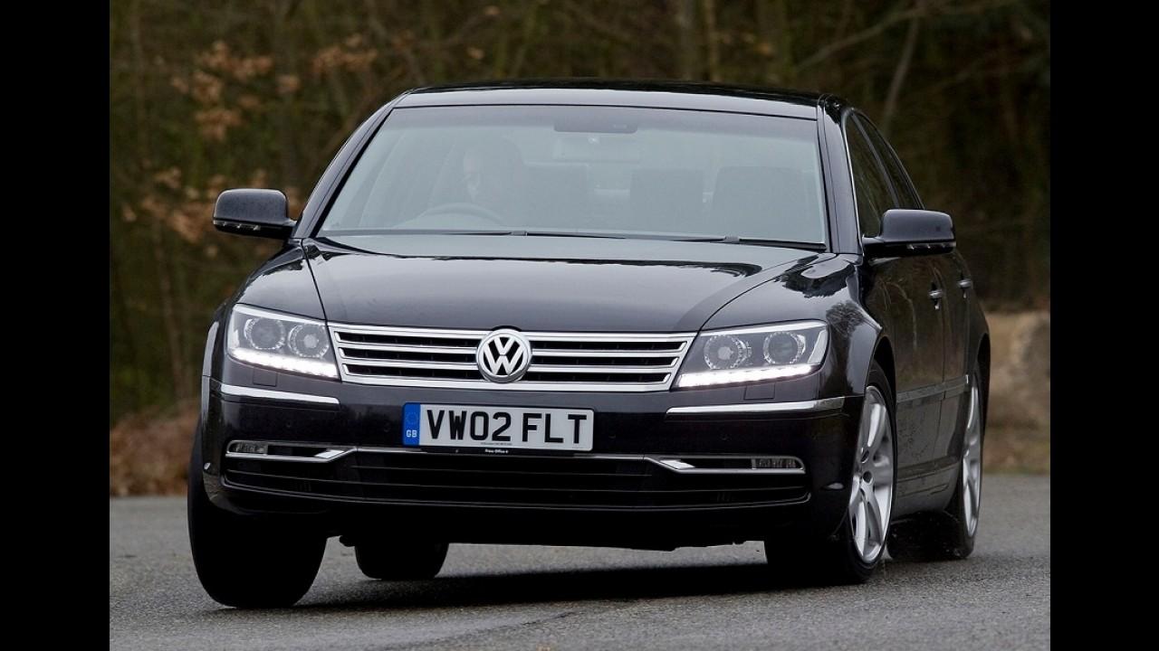 Phaeton: encerrada produção do sedã mais luxuoso já feito pela VW
