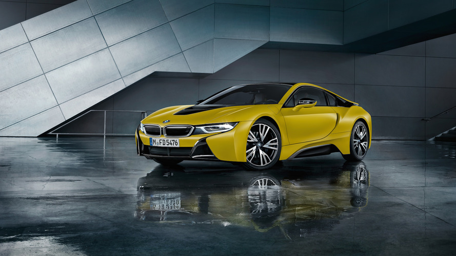 Cool new BMW i8 Frozen Editions coming to Geneva
