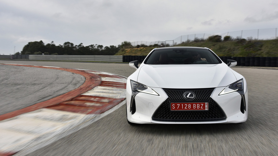 El Lexus LC F 2018 podría alcanzar los 600 CV