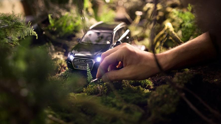 Audi'nin minyatür otomobillerinden oluşan bu takvime bayılacaksınız