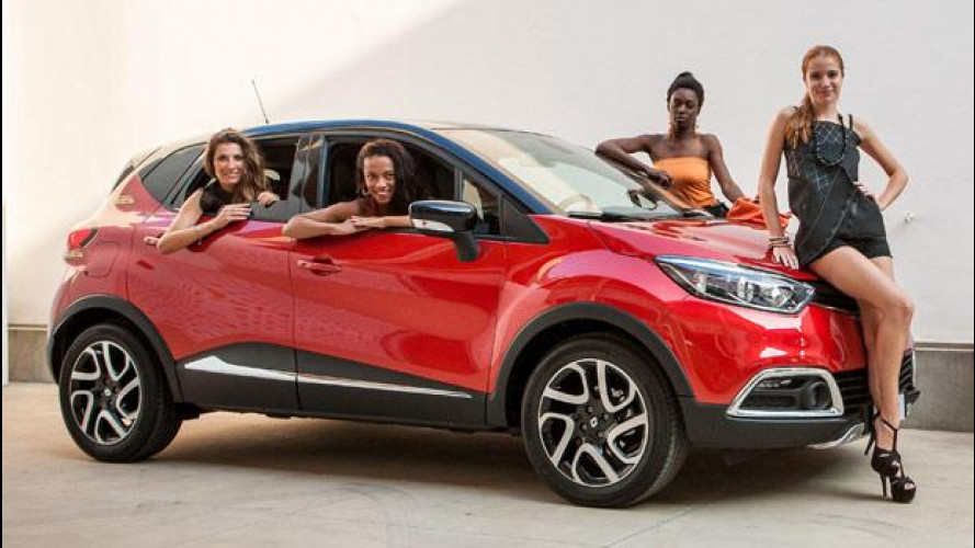 Renault Captur Project Runway, anima glamour