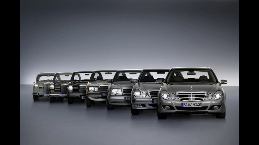 Mercedes Classe E: un milione e mezzo di vetture consegnate