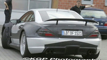 Mercedes SL 65 Black Series spy photo