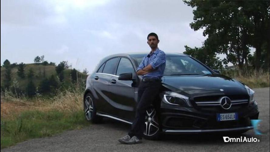 Mercedes A 45 AMG, prova su strada [VIDEO]