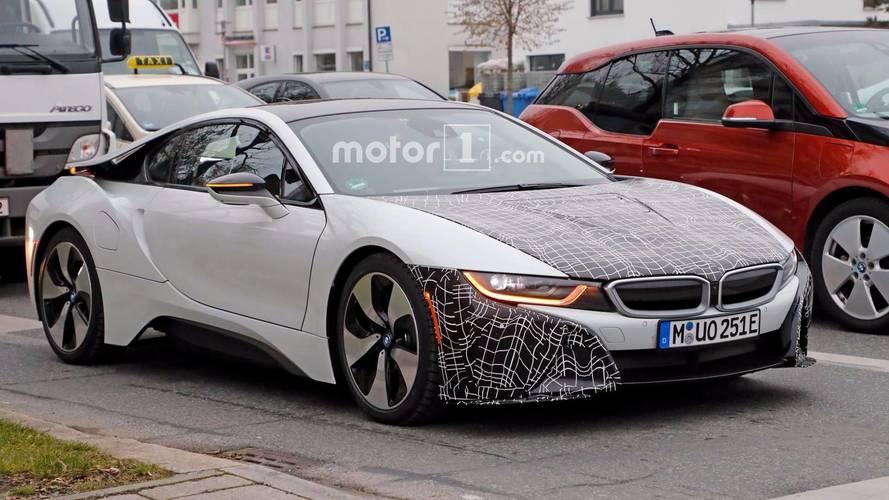 Bu gördüğümüz BMW i8 prototipi S versiyonu mu?