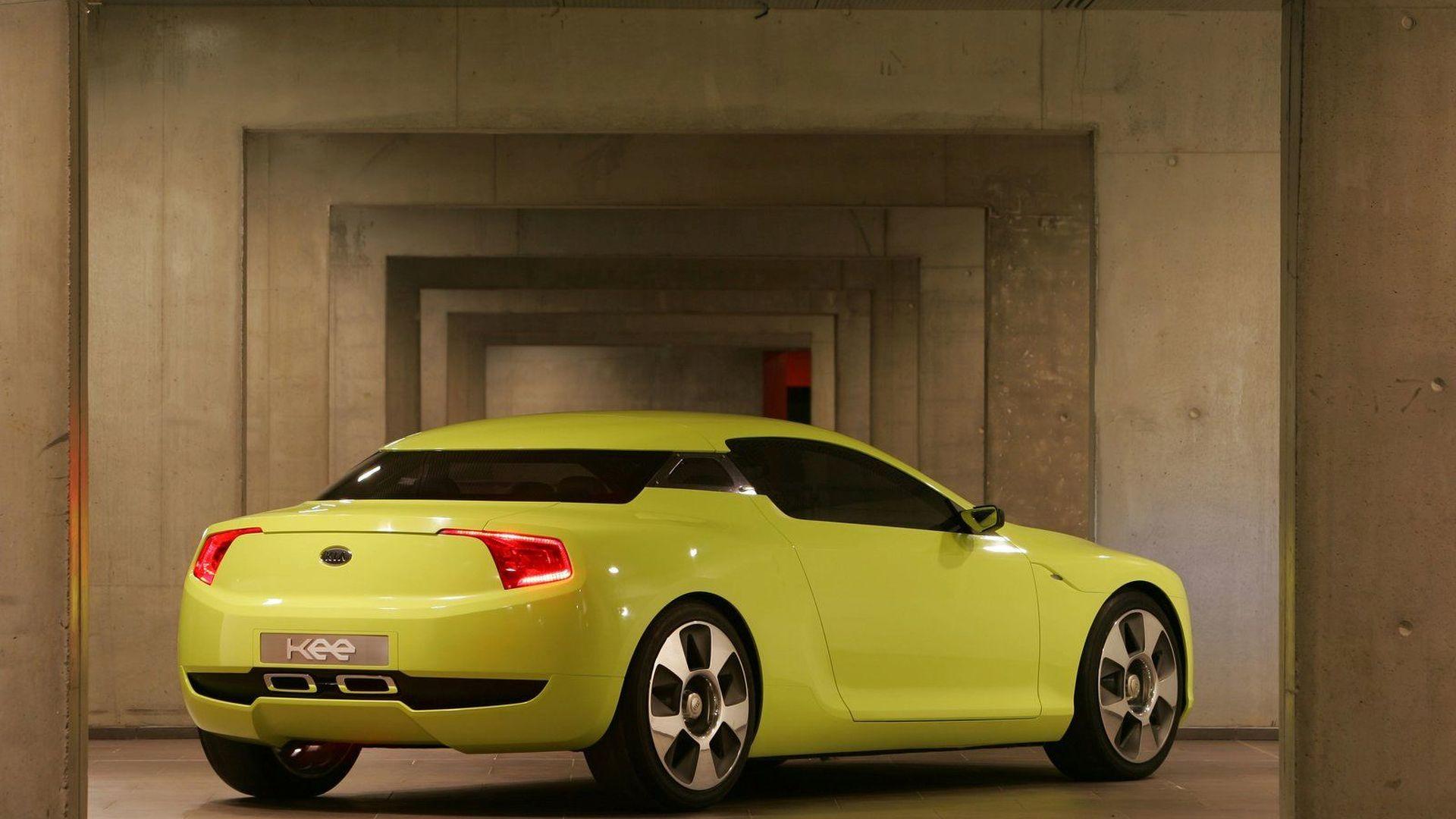 Kia coupe concepts headed for Frankfurt  Detroit  report