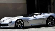 Corvette Stingray Concept goes topless for Tranformers 3