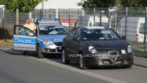 Alfa Romeo Milano Prototype Spied During Police Stop