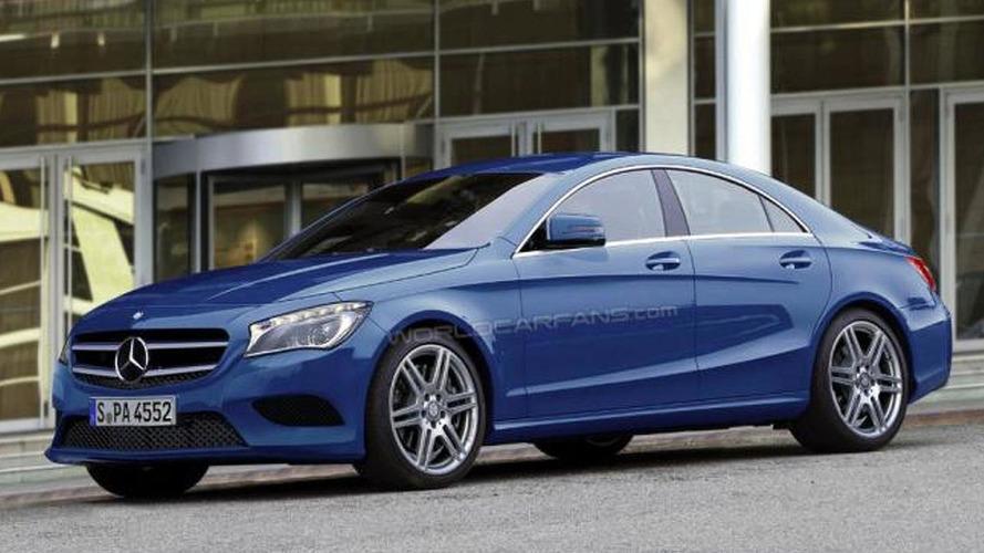 2013 Mercedes-Benz BLS / CLC rendered