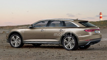 Audi A6 Avant Allroad illustrations