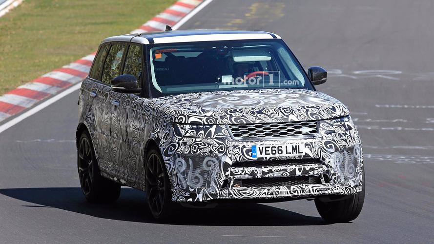 Land Rover Range Rover Sport SVR casus fotoğraflar