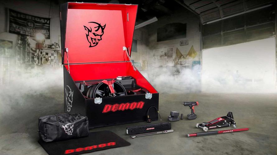 Dodge Challenger SRT Demon Options
