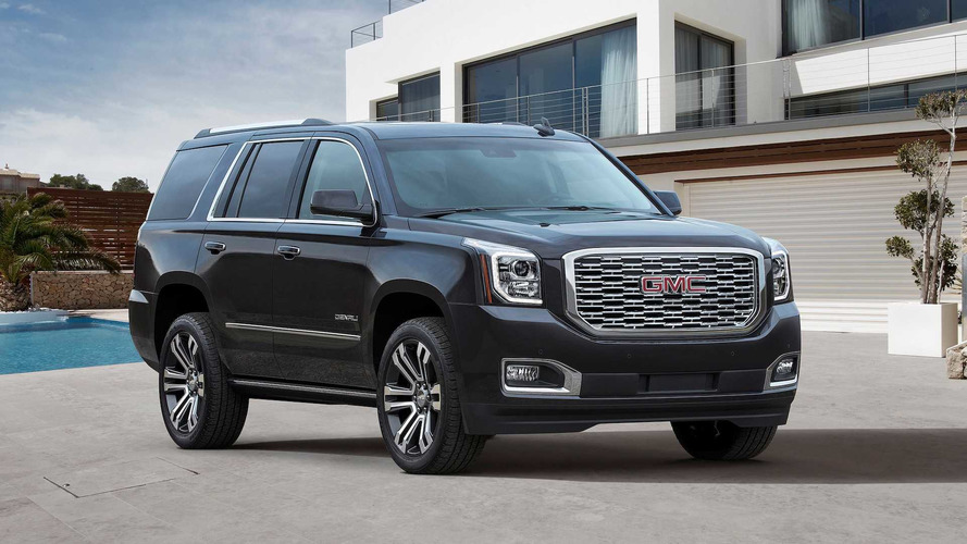 2018 GMC Yukon Denali | Motor1.com Photos