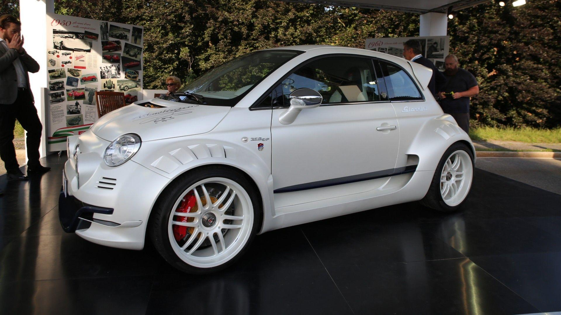fiat 500 giannini is super city car with 350 hp from alfa romeo. Black Bedroom Furniture Sets. Home Design Ideas