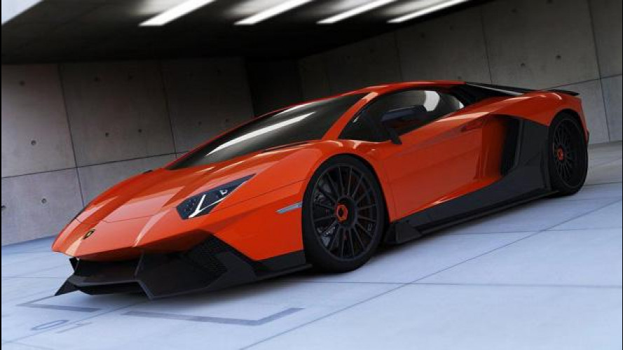 Lamborghini Aventador LE-C by Renm