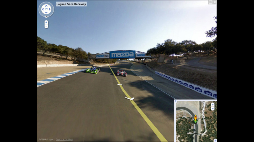 Laguna Seca è su Google Street View