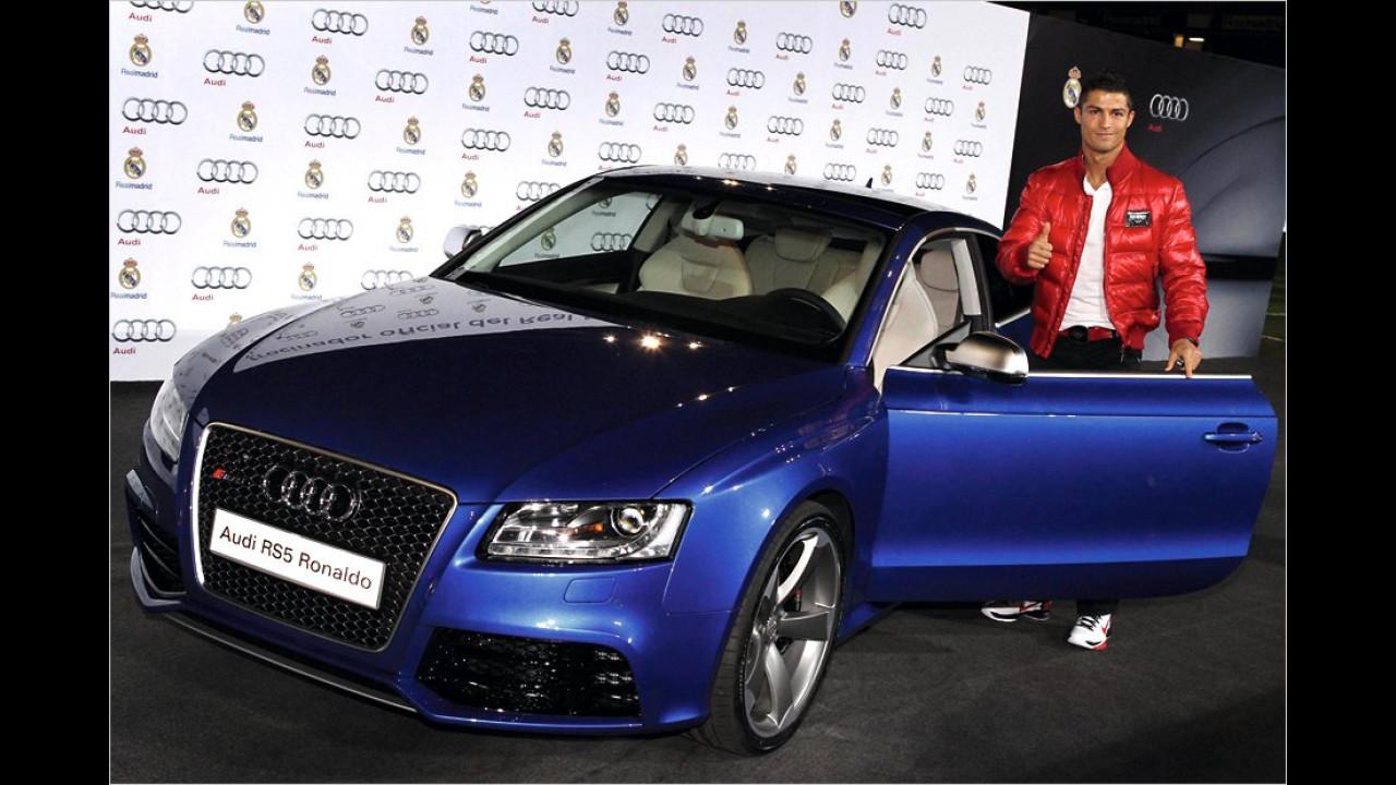 Cristiano Ronaldo: Audi RS 5