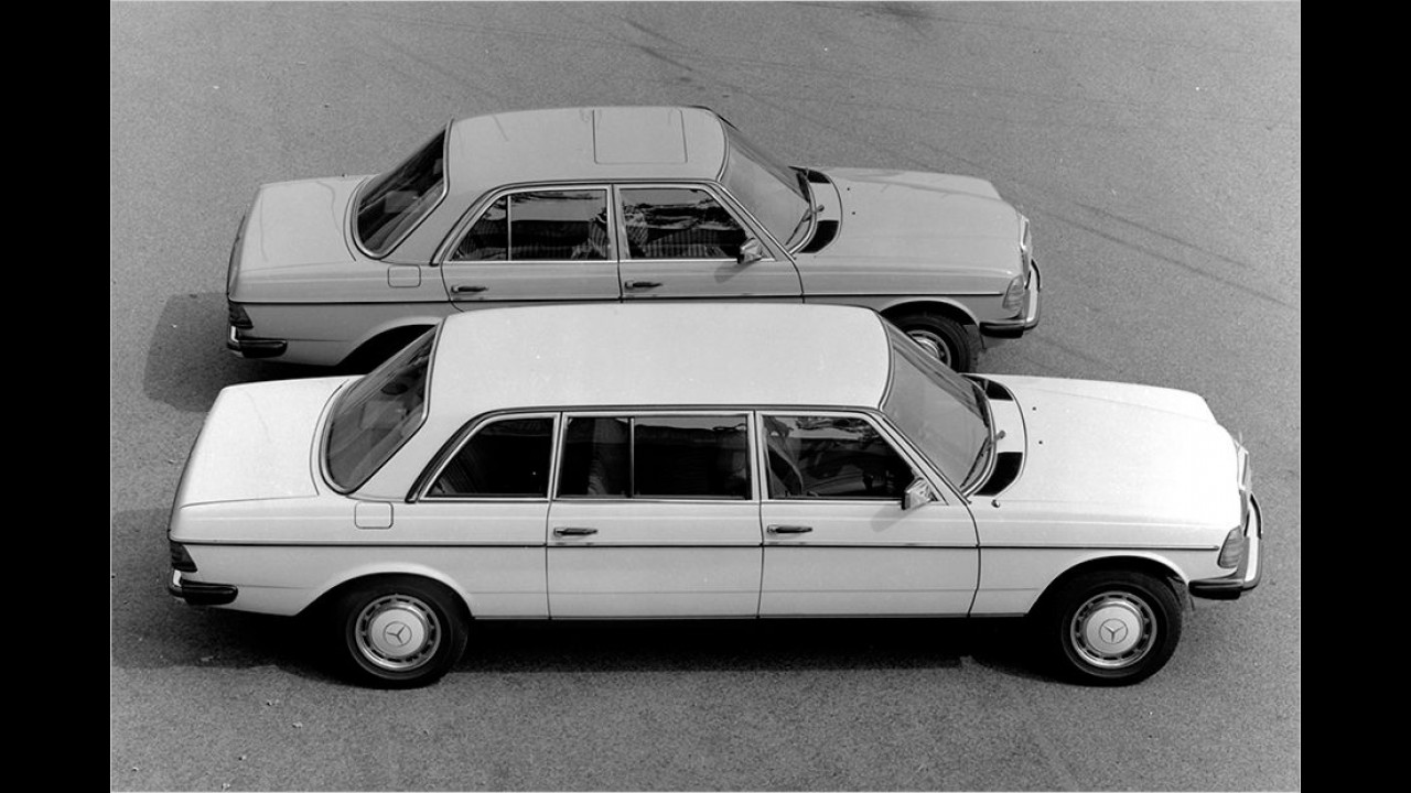 Mercedes W 123 Langversion (1977)