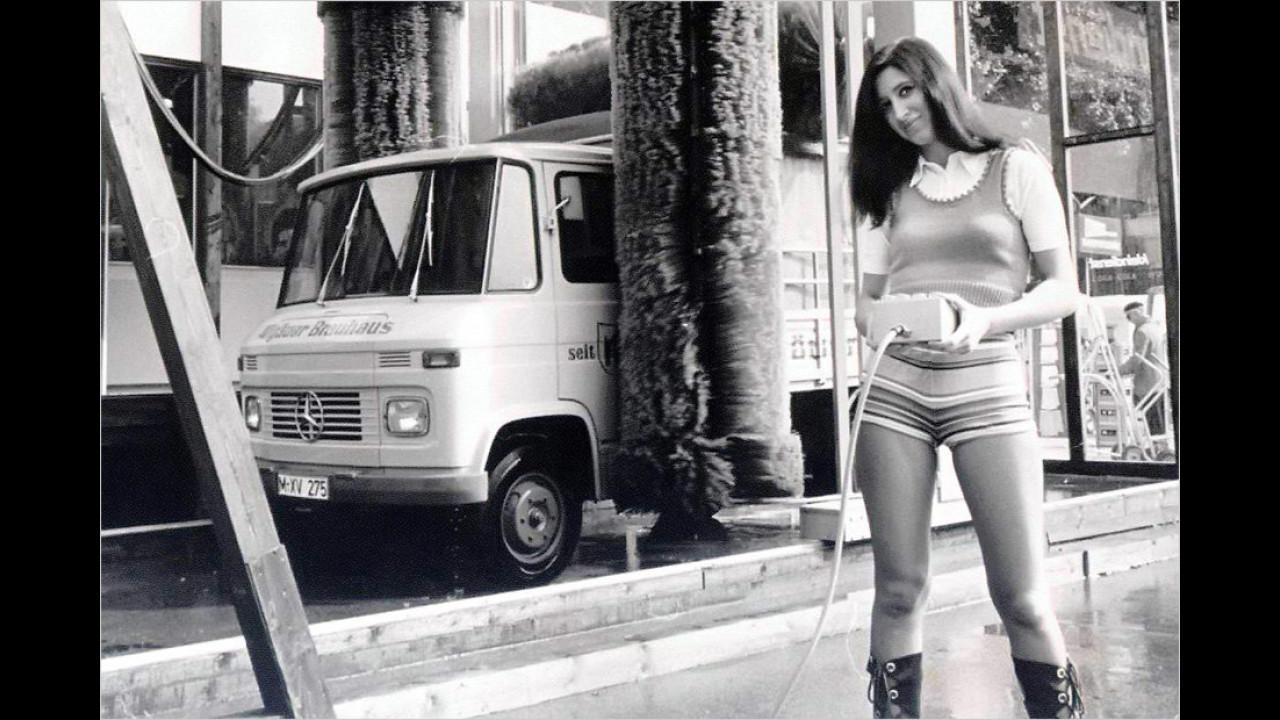 50 Jahre Autowaschanlage