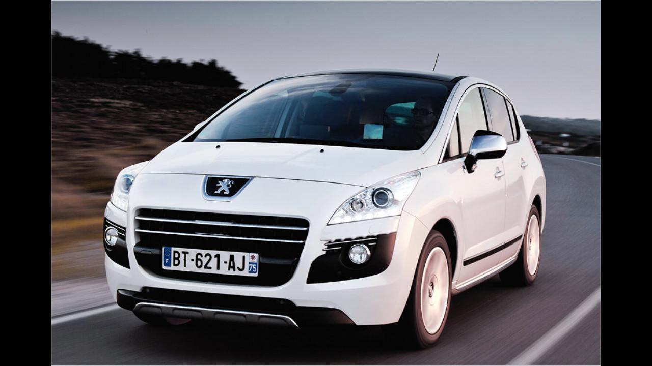 Peugeot 3008 HYbrid4 THP