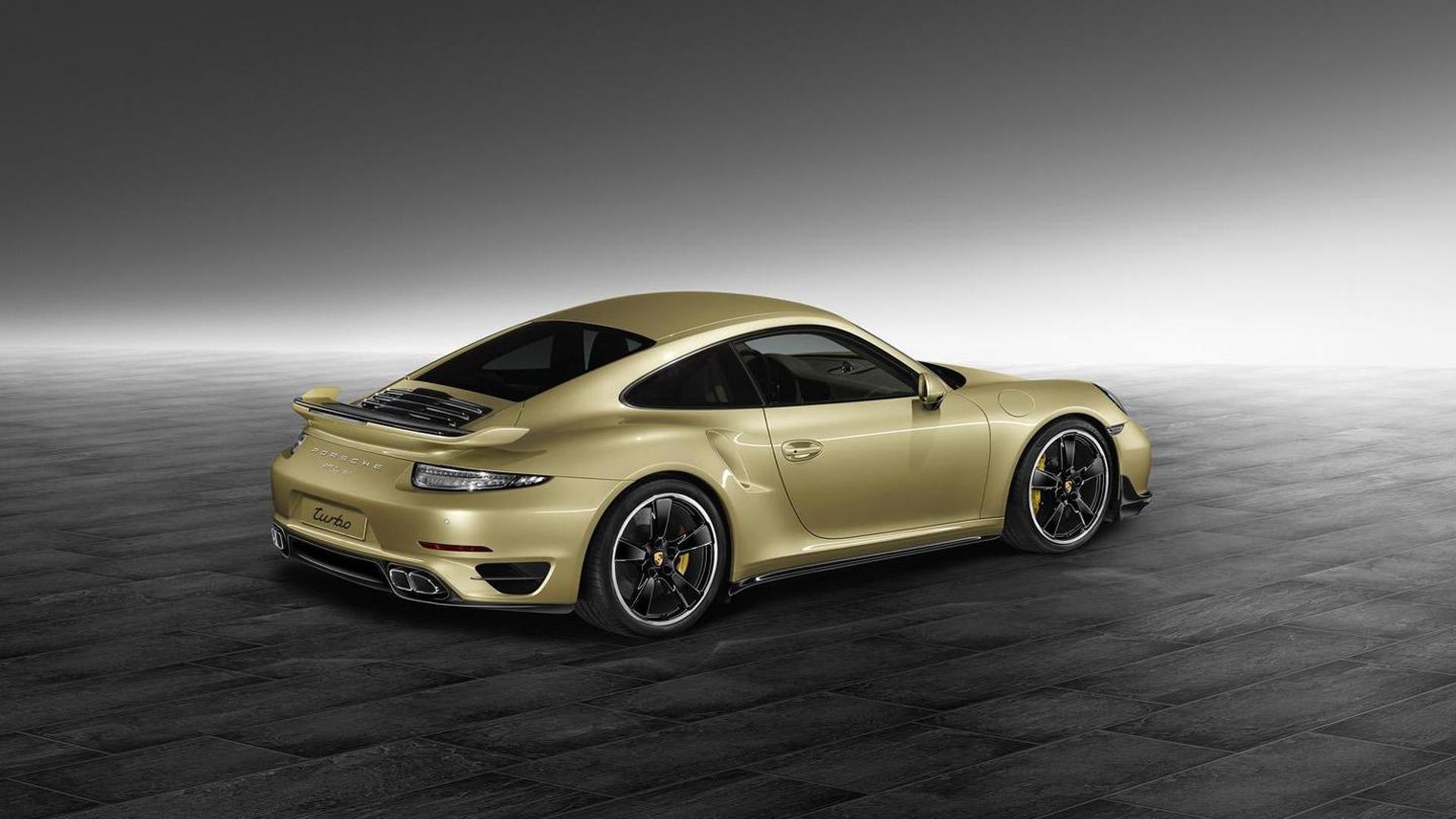 Porsche 911 Turbo в обвесе от Porsche Exclusive