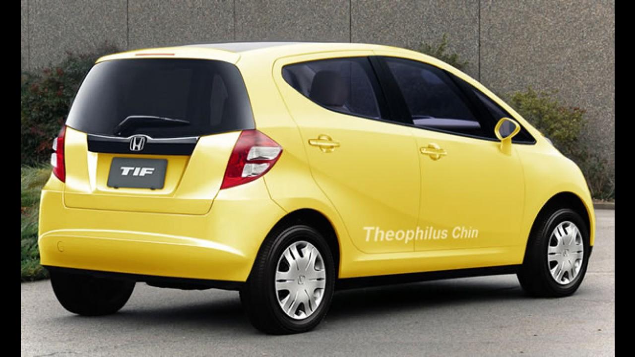 Honda apresentará novo compacto de baixo custo em janeiro na Índia