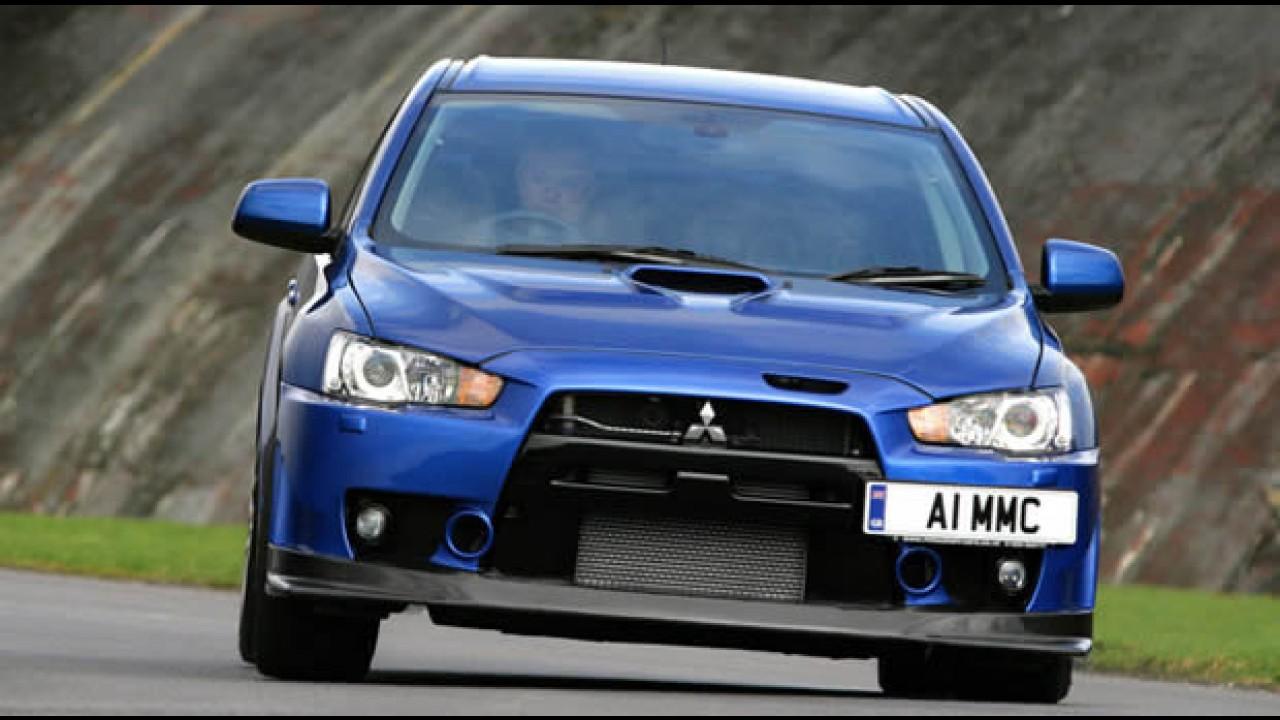 Mitsubishi Lancer ganha prêmio de sedan mais seguro do ano