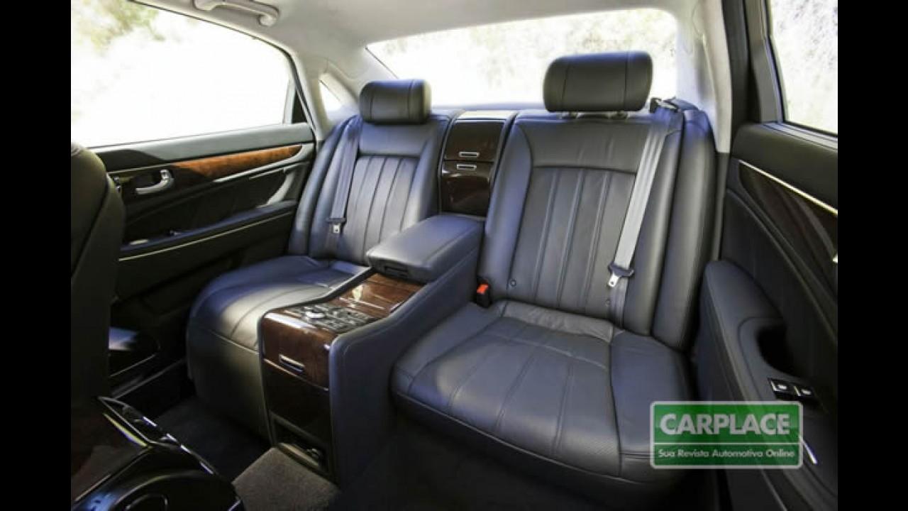 Hyundai Equus - Confira as especifições e todo o luxo em fotos