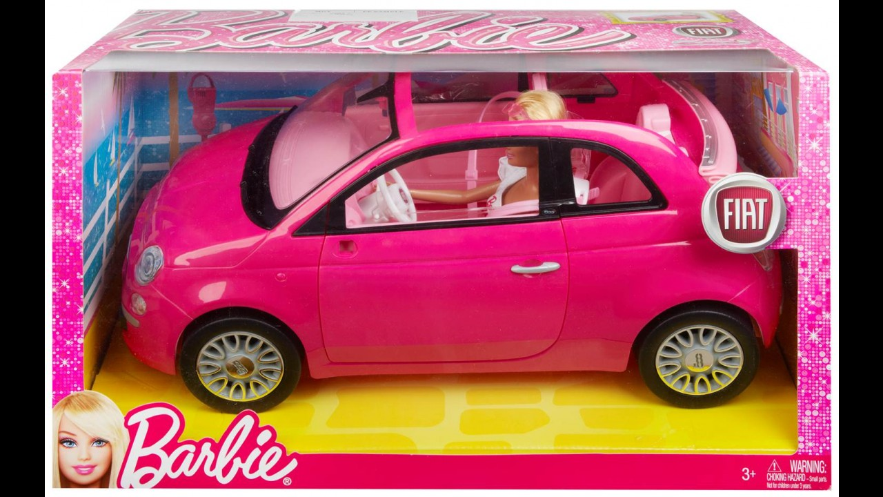 Dia das crianças: Fiat lança 500C da Barbie