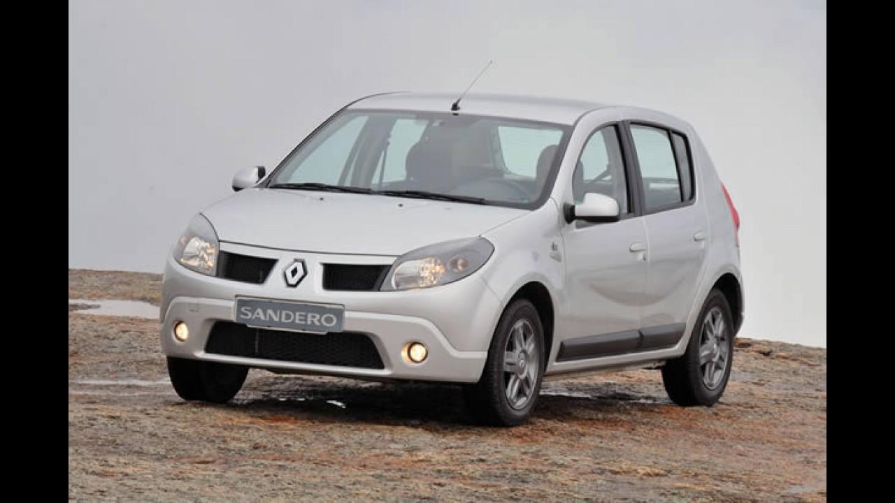 """Renault reedita a série limitada """"Sandero Vibe"""" - Versão tem preço inicial de R$ 38.590"""