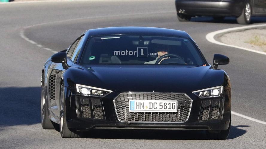 Hardcore Audi R8 spy photos