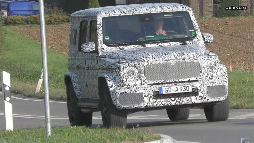 Next-gen Mercedes G63 spied during testing