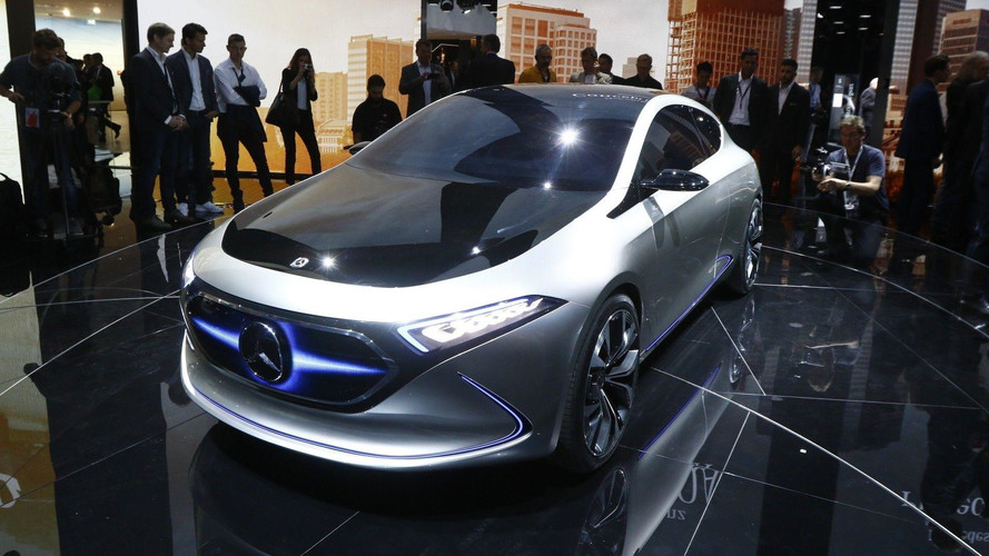Mercedes-Benz EQ A Concept Puts 249-Mile EV In A Stylish Package