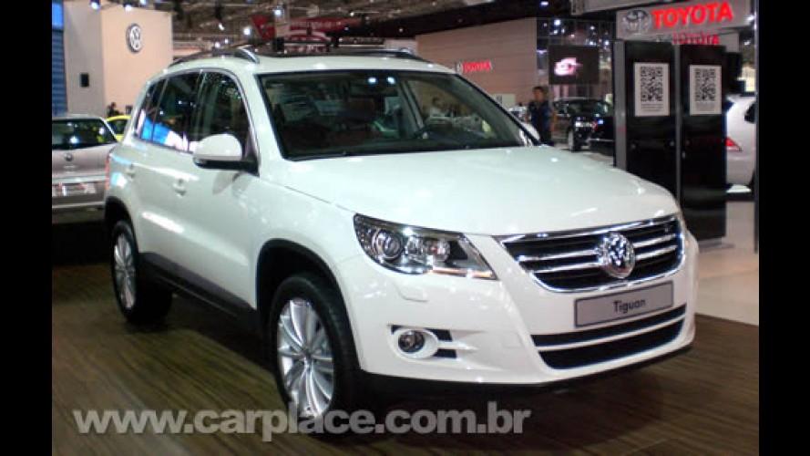 Salão do Automóvel 2008 - Volkswagen Tiguan chega no começo de 2009