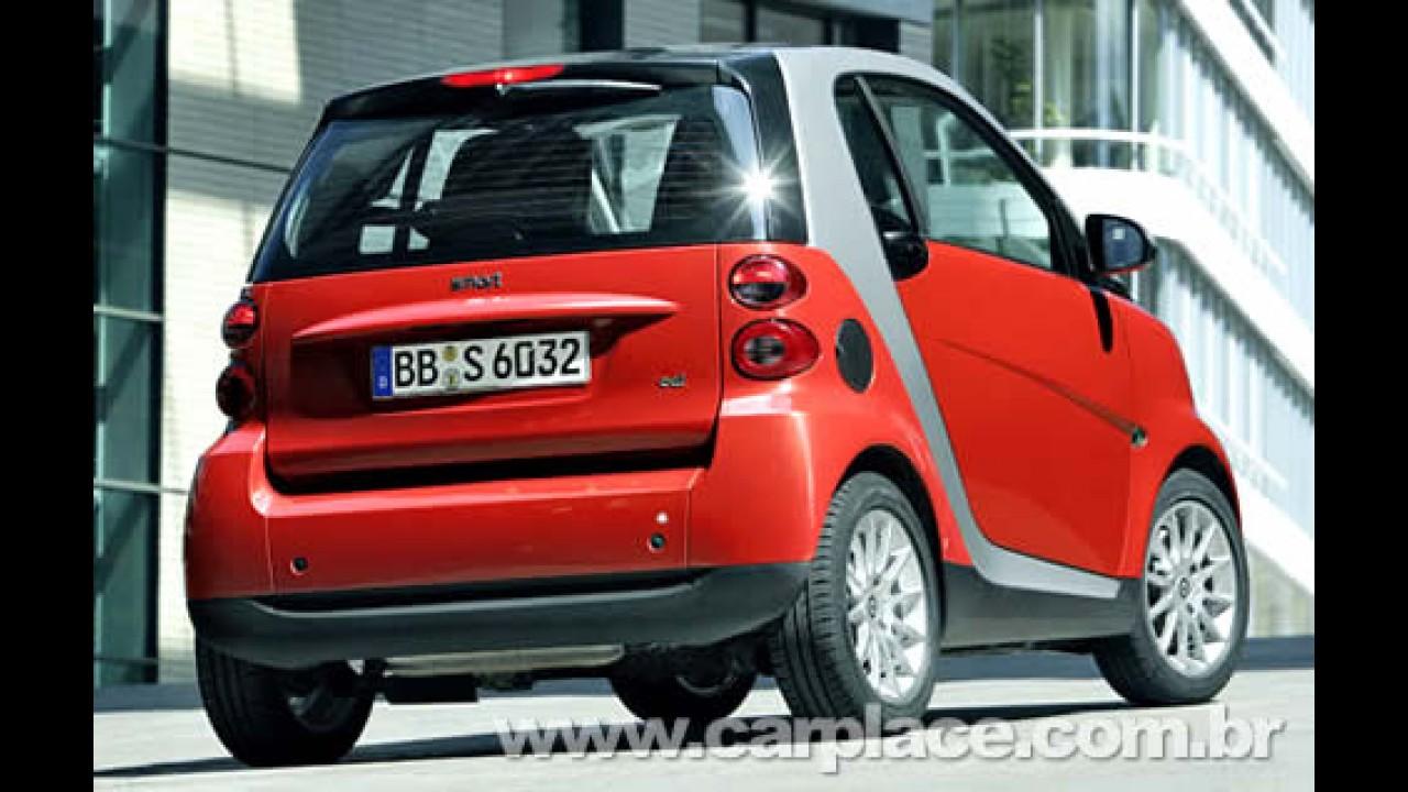 Mercedes-Benz confirma que importará o Smart Fortwo  para o Brasil em 2009
