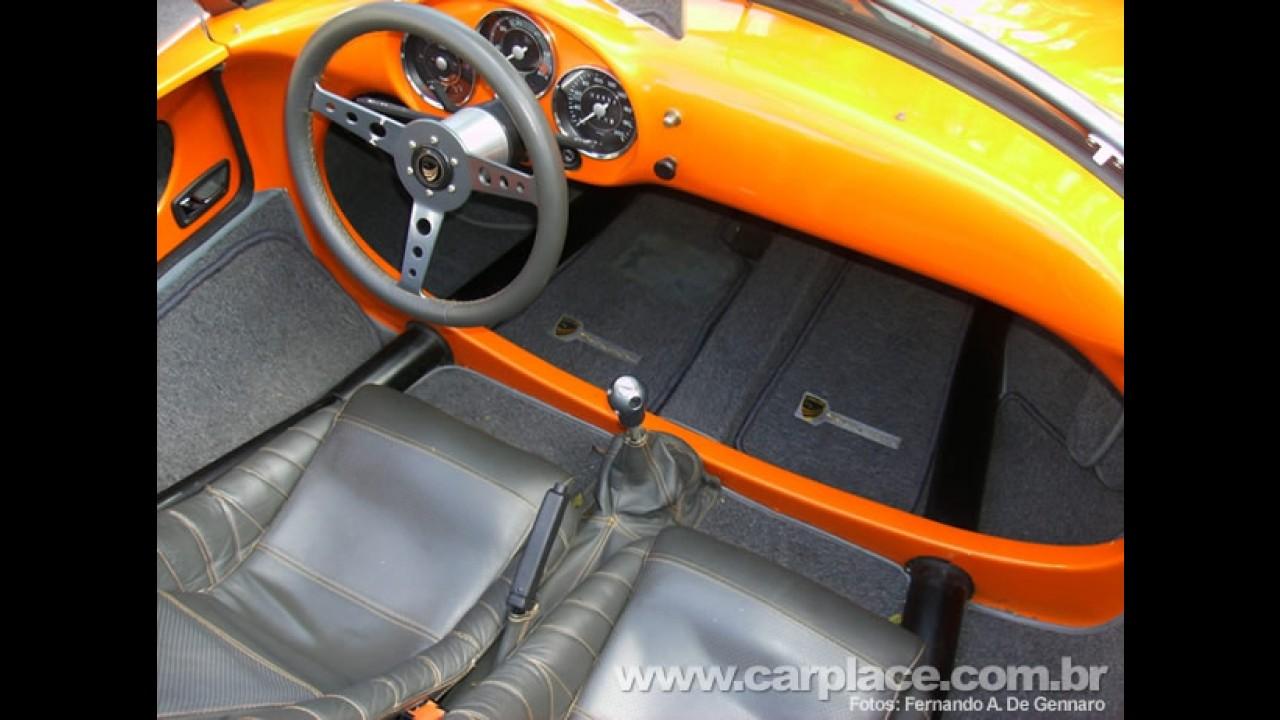Chamonix Spyder 550 S - Pilotando o primeiro esportivo conversível brasileiro Flex - Veja fotos