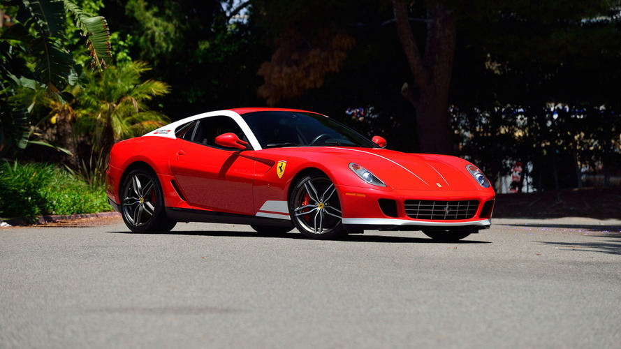 This 600-horsepower Ferrari pays homage to a racing legend