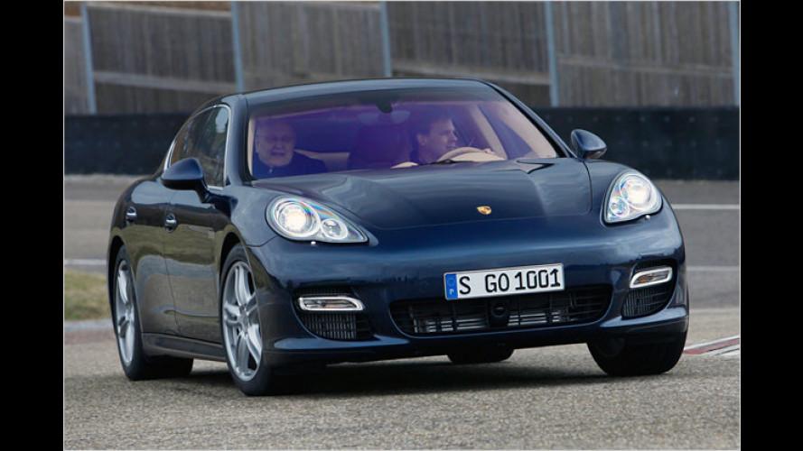 Porsche Panamera: Erste Mitfahrt im Überschall-Businessjet