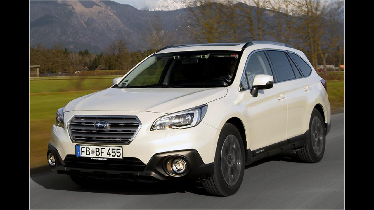 Subaru Outback: 4,81 Meter