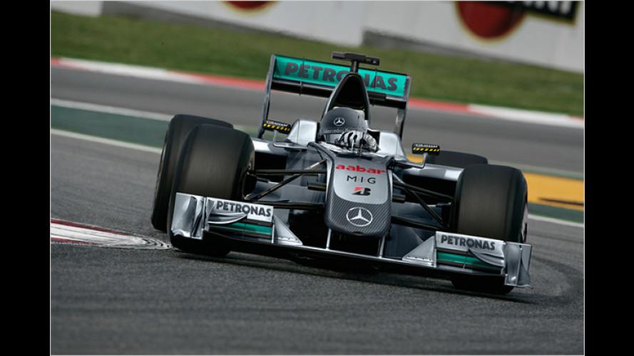Schumi: Comeback im neuen Formel-1-Silberpfeil