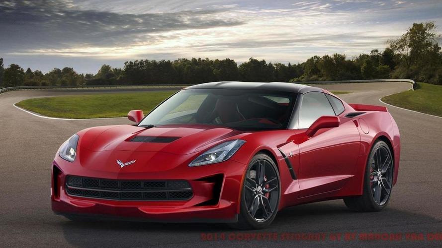 Corvette Stingray GT rendered by WCF reader