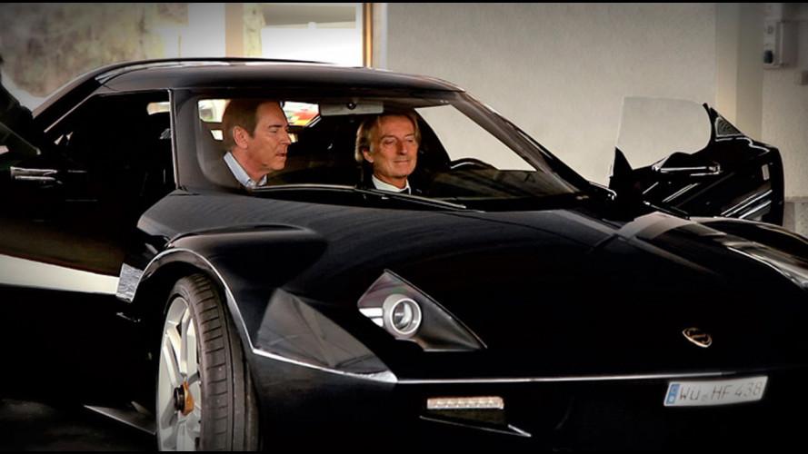 New Stratos, la versione di Ferrari e Pininfarina