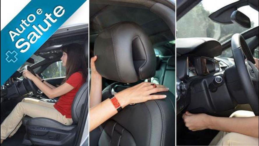 La postura in auto, tra sicurezza e salute